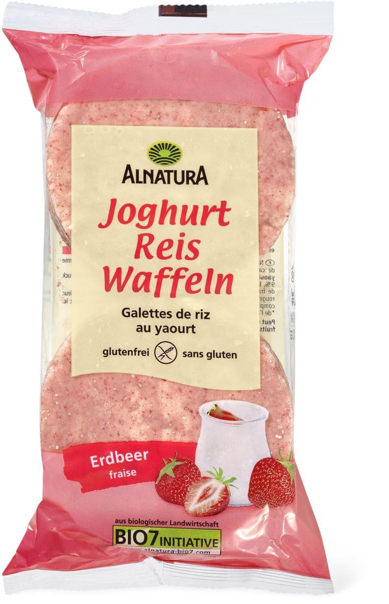 Alnatura Reiswaffel Joghurt Erdbeer