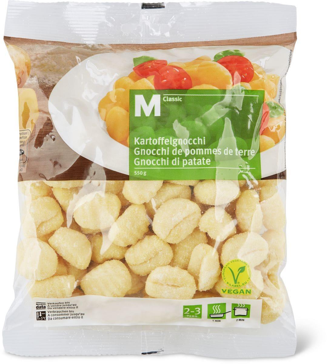 M-Classic Gnocchi mit Kartoffeln