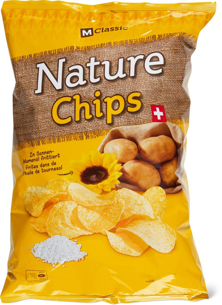 M-Classic Nature Pommes Chips