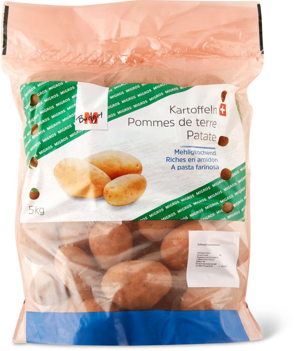 M-Budget Kartoffeln mehligkochend