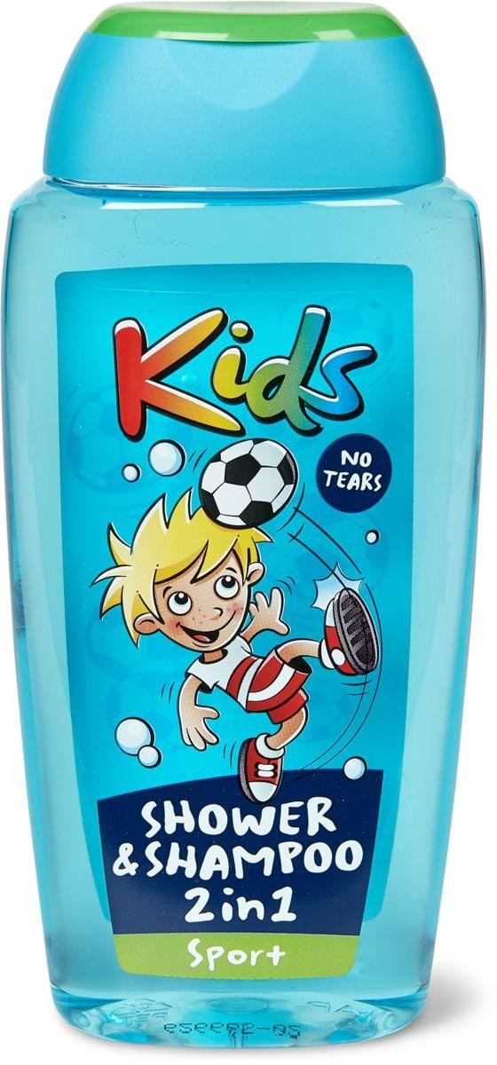 Kids Shower & Shampoo 2in1 Sport