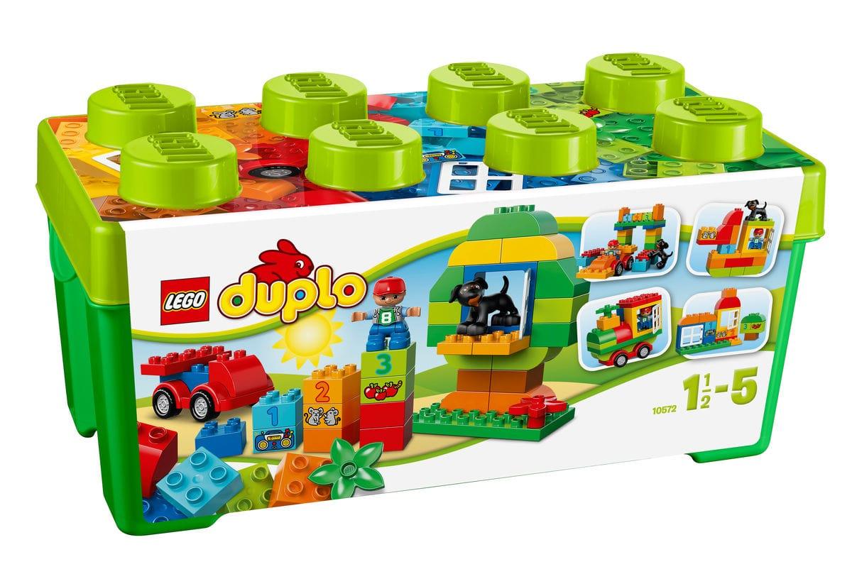 LEGO DUPLO Scatola costruzioni Tutto-i 10572