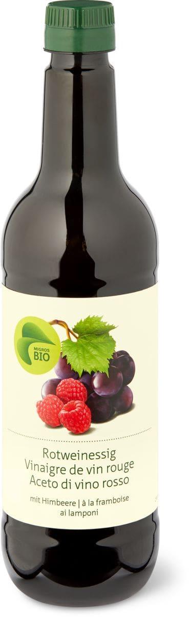 Bio aceto di vino Rosso ai lamponi