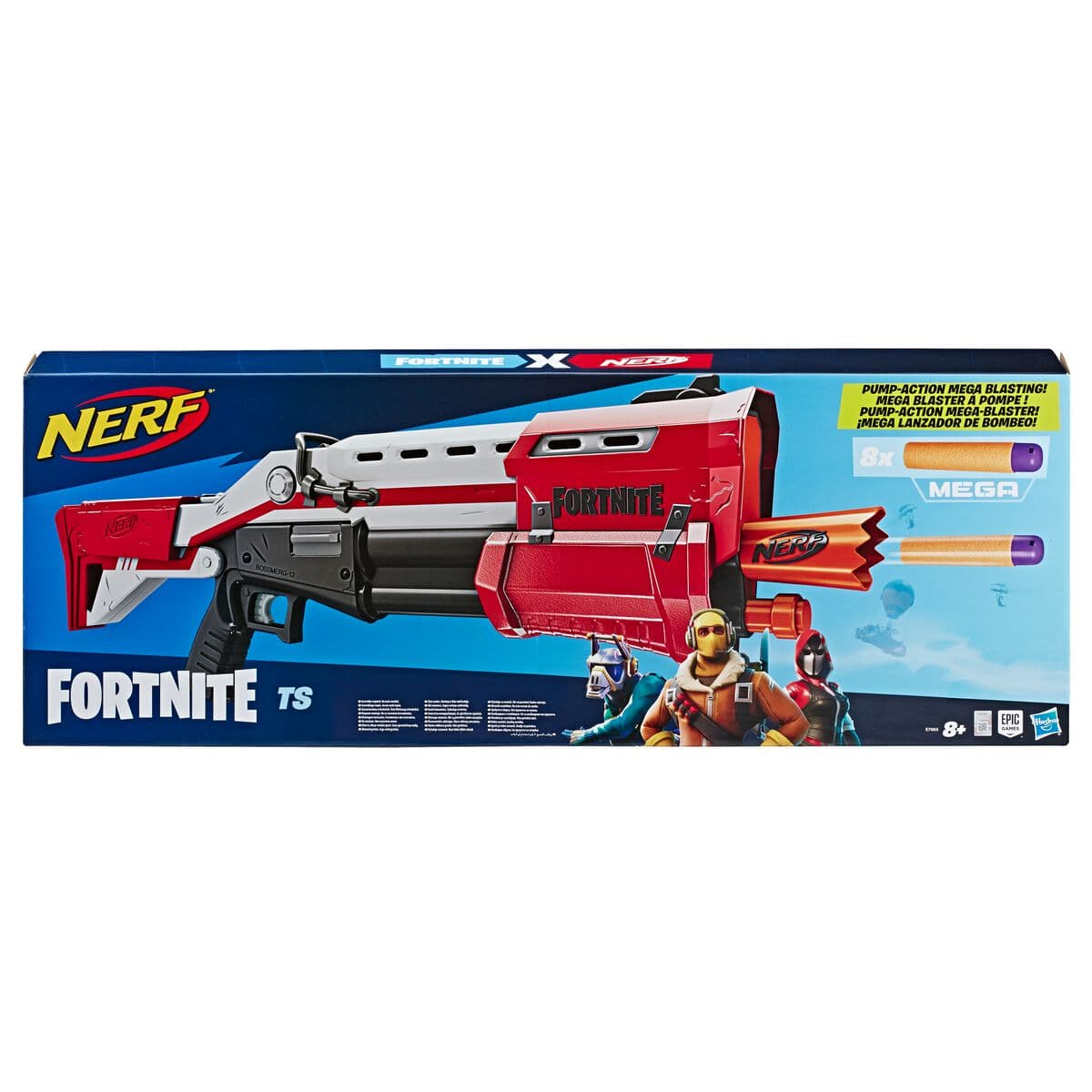 Nerf Fortnite TS-Blaster – Pump-Action Dart Blaster
