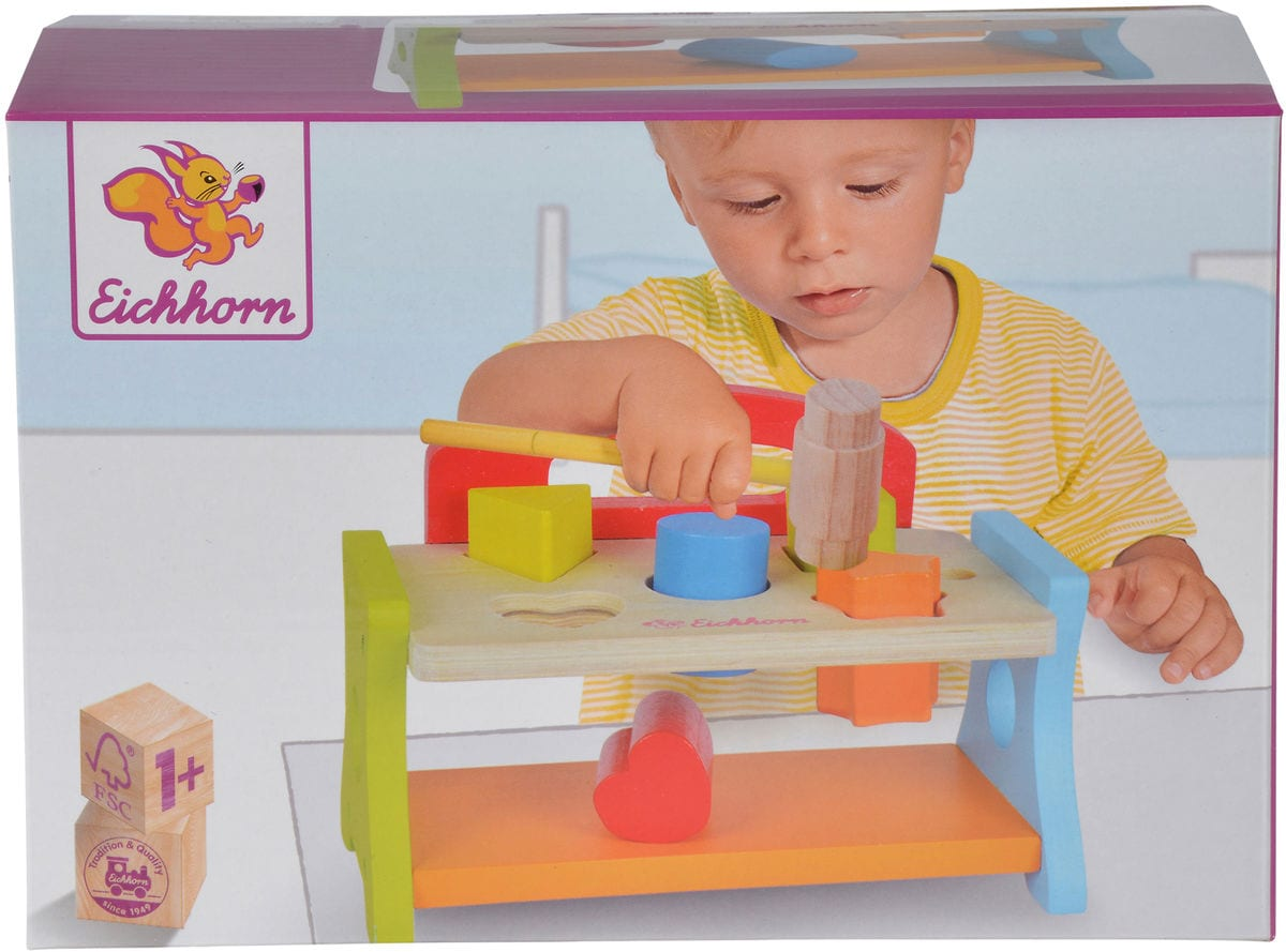Eichhorn Panca martellare (FSC) Set di giocattoli