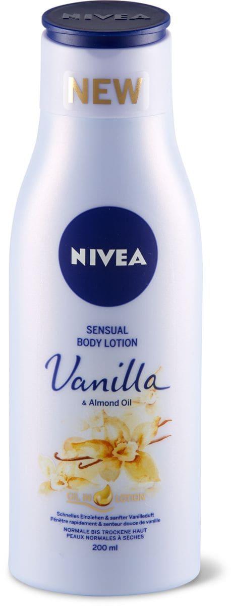 Nivea Sensual Body Lotion Vanilla