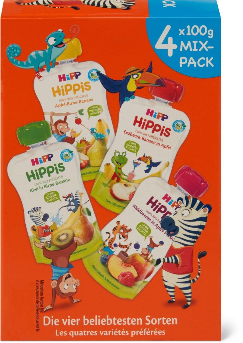 Hipp Quetschbeutel Hippis Mix-Pack