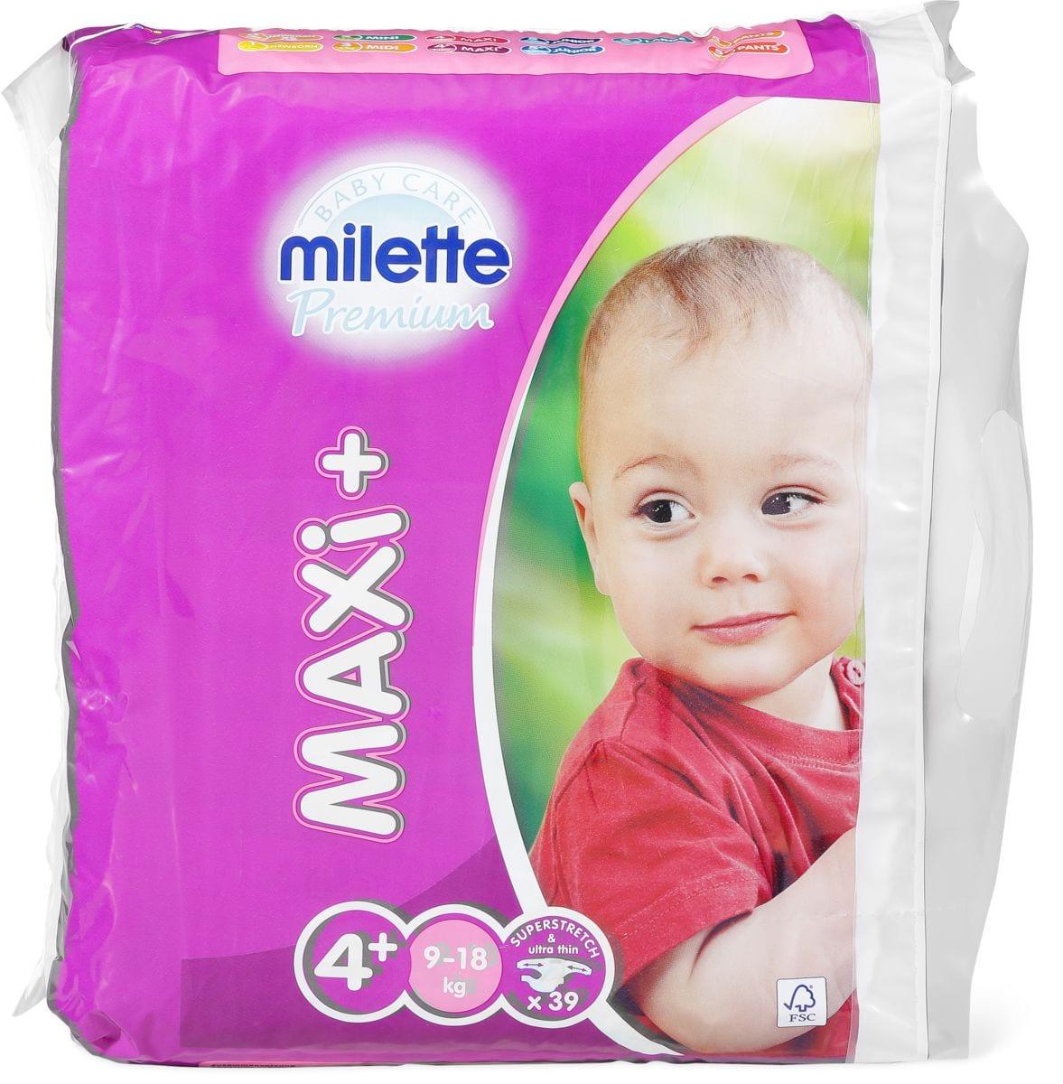 Milette Maxi 4+, 9-18kg