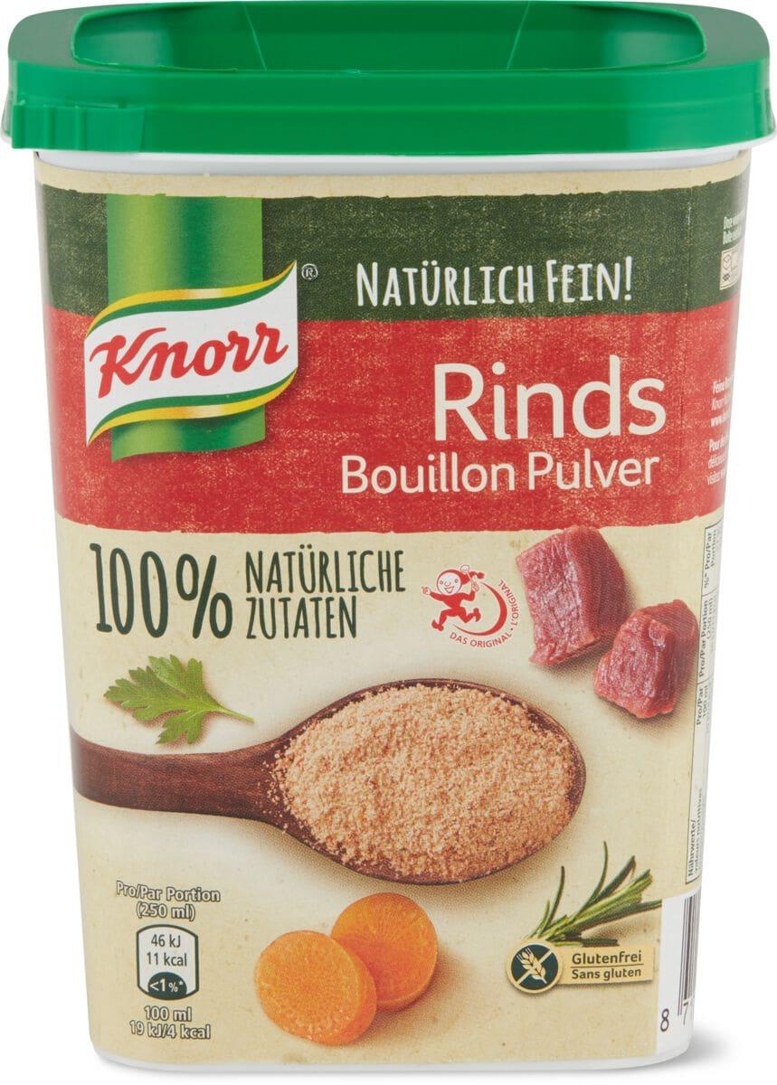 Knorr Rinds Bouillon 100% natürlich