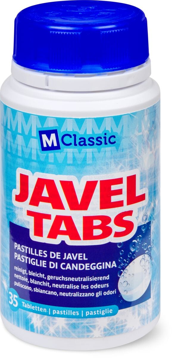 M-Classic Javel Tabs Nature