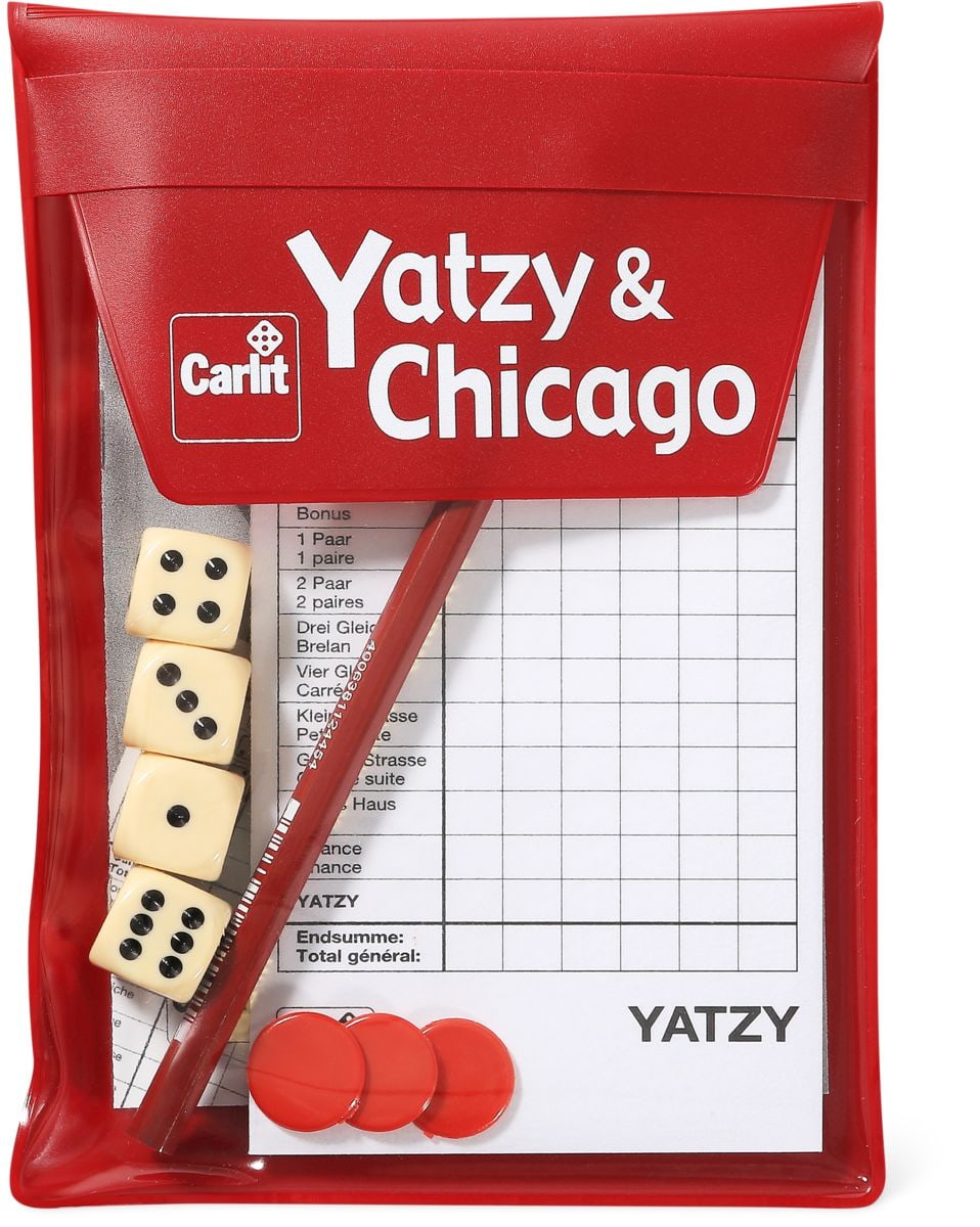 Carlit Reise Yatzy + Chicago 2015 Gesellschaftsspiel