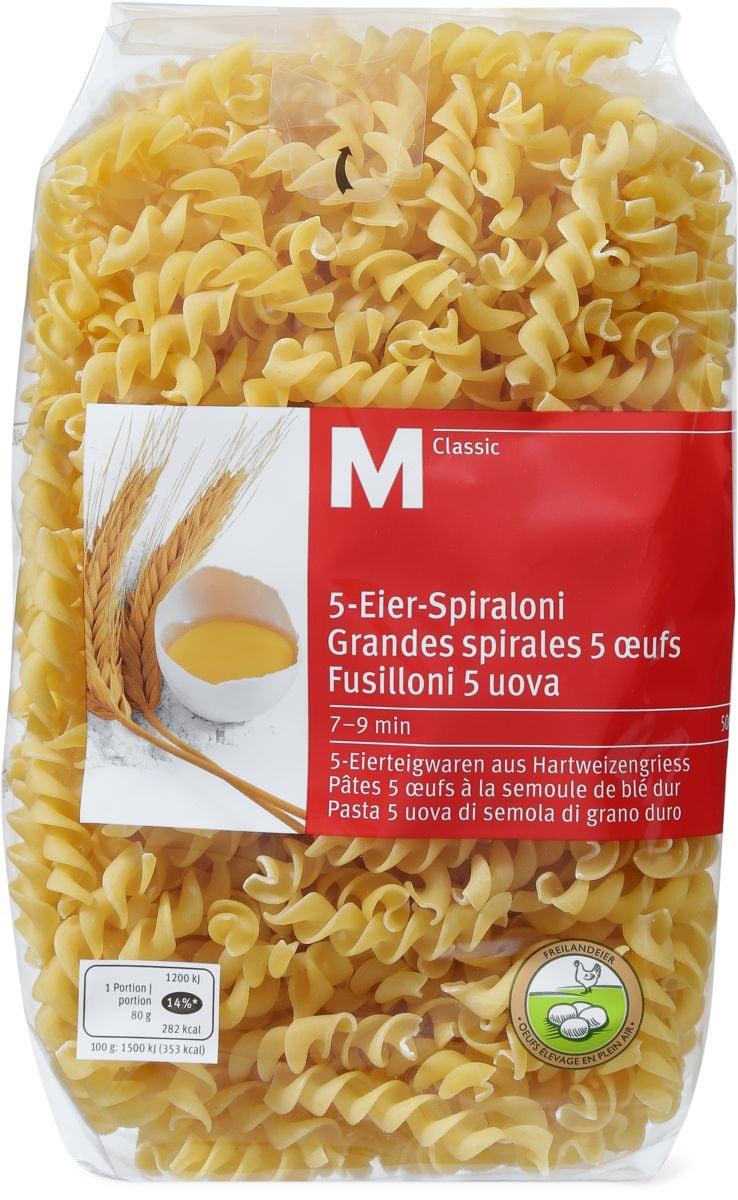 M-Classic Fusilloni 5 uova