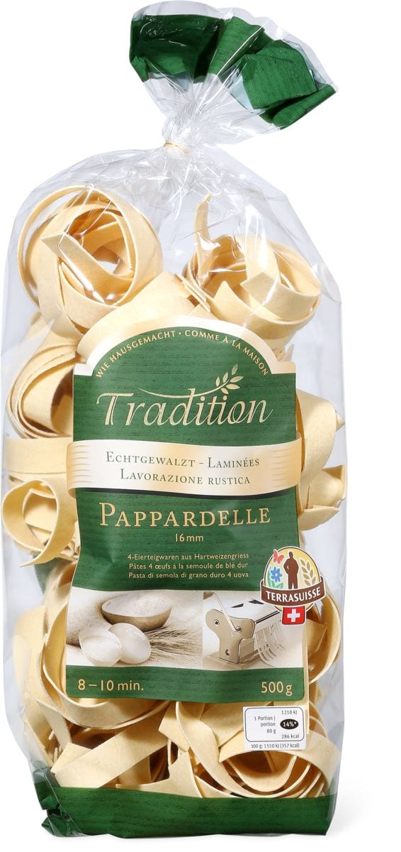Pappardelle Tradition TerraSuisse