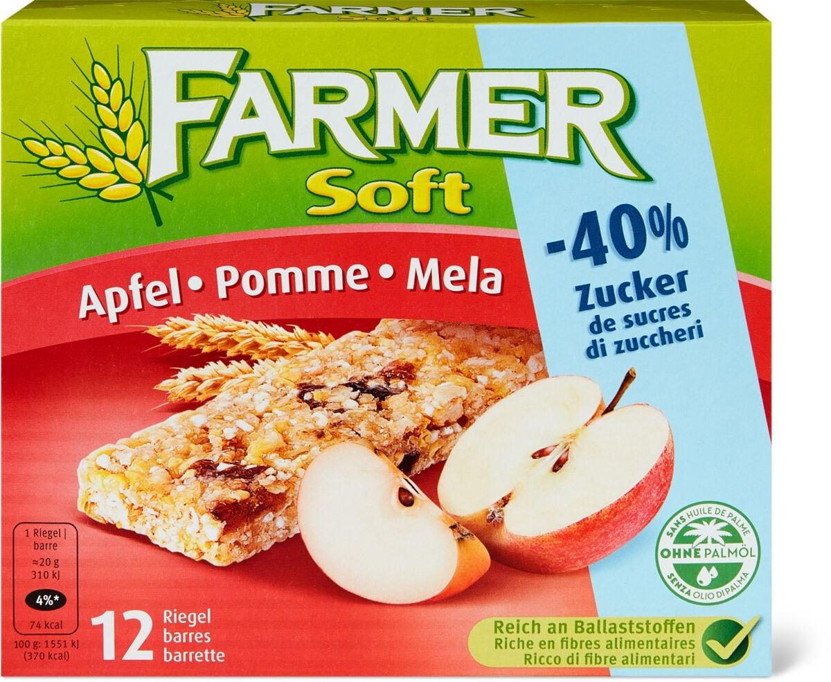 Farmer Soft Apfel -40% Zucker