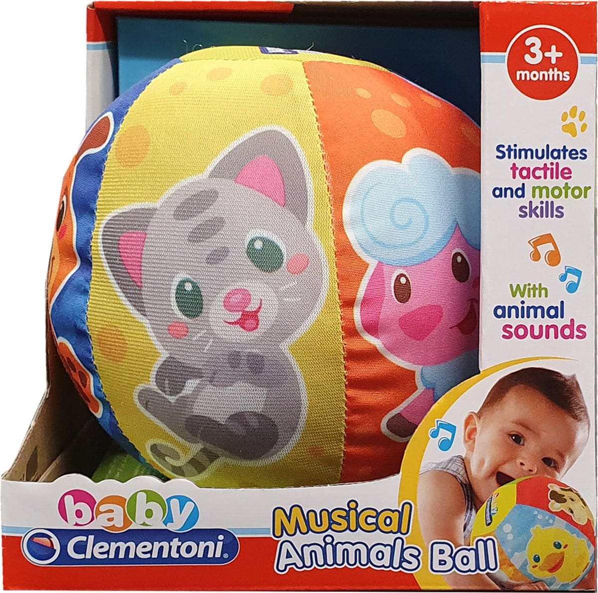 Clementoni Activity soft Ball Giochi educativi