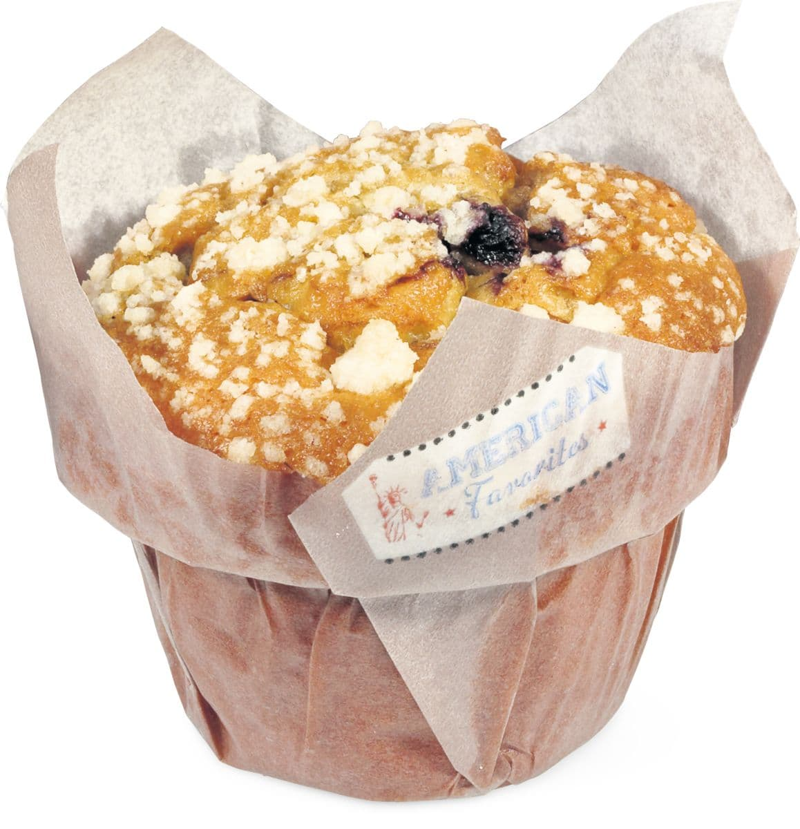american favorites blueberry muffin migros