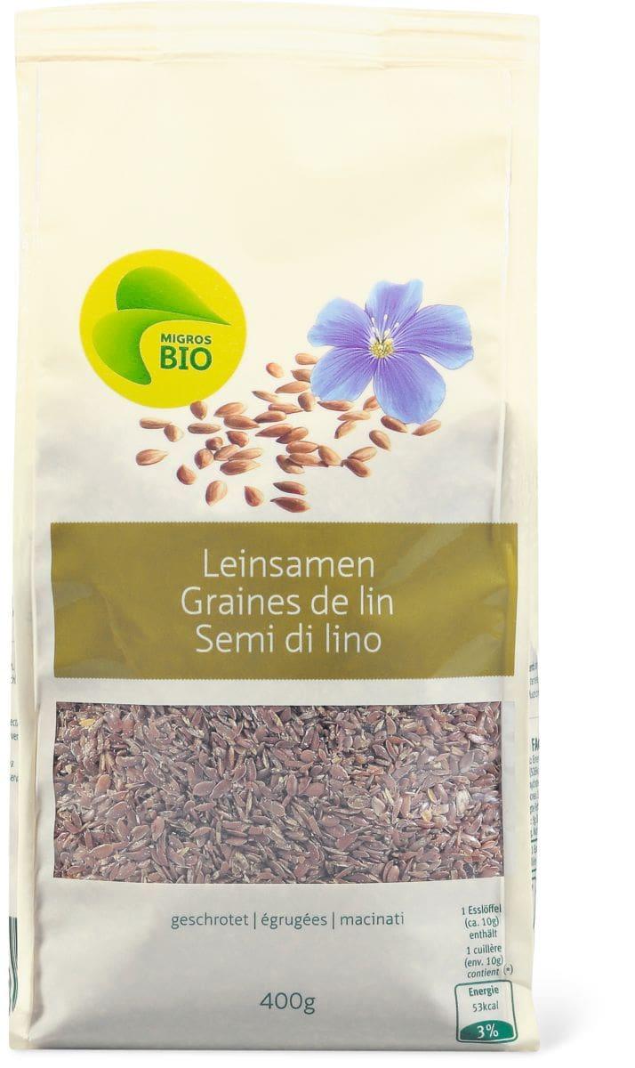 Bio Graines de lin égrugées