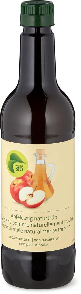 Bio aceto di mele Naturalmente torbido