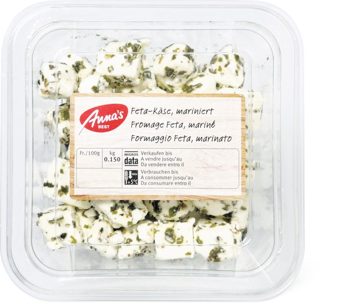 Anna's Best Feta Käse mariniert