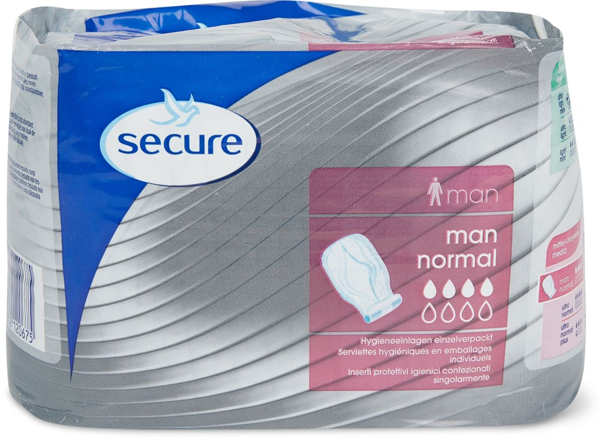 Secure men normal