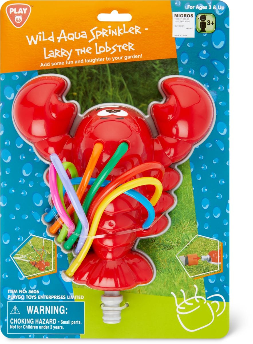 Playgo Wassersprinkler Krebs Wasser-Spielzeug