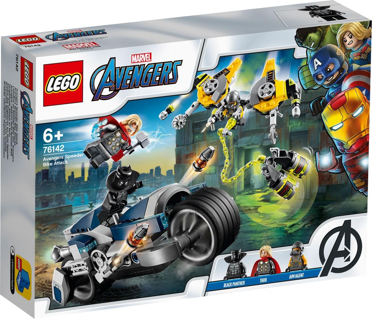 LEGO Marvel 76142 Avengers Speeder-Bike Attacke