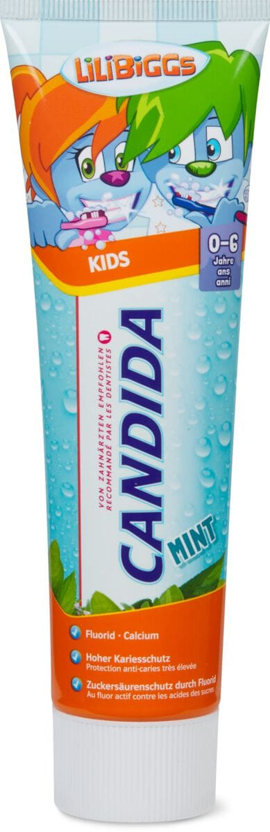 Candida dentifrice Kids Mint