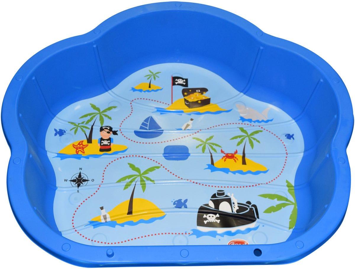 Gowi Sand Spielmuschel Blau Sandspielzeug