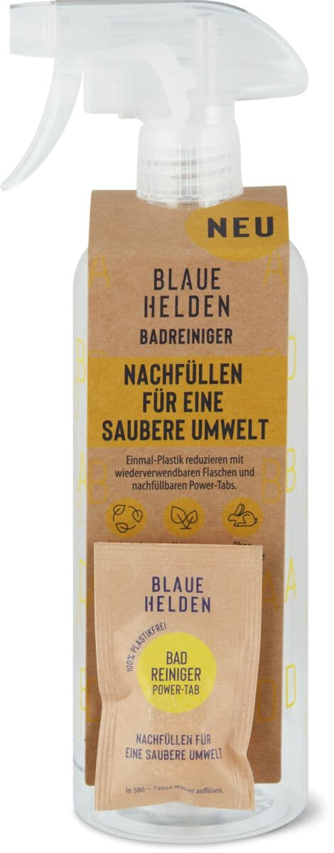 Blaue Helden Set nettoyant pour salle de bains