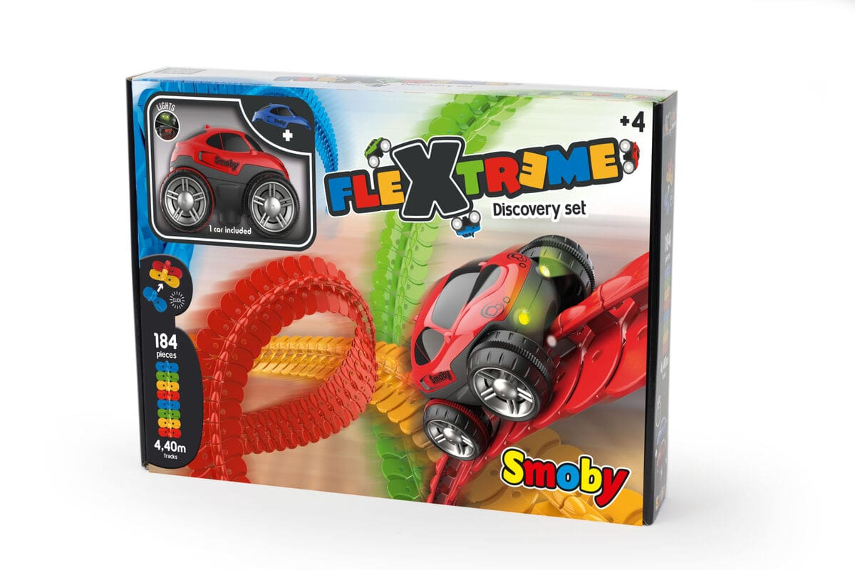 Smoby Flextrem Discovery-Set Bahn