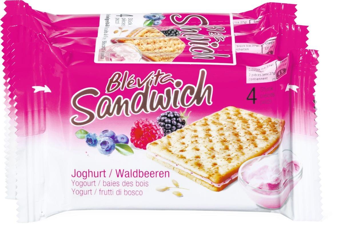 Blévita Sandwich Yogourt / baies bois