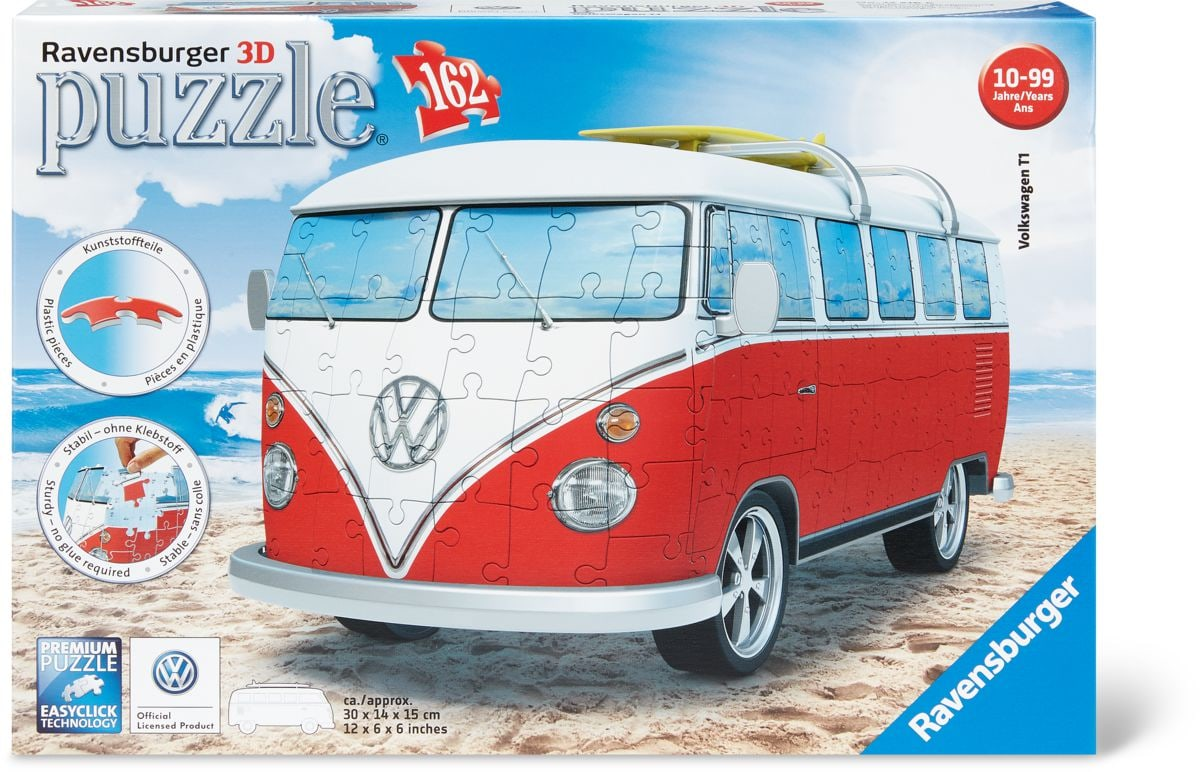 3D Puzzle VW Bulli T1