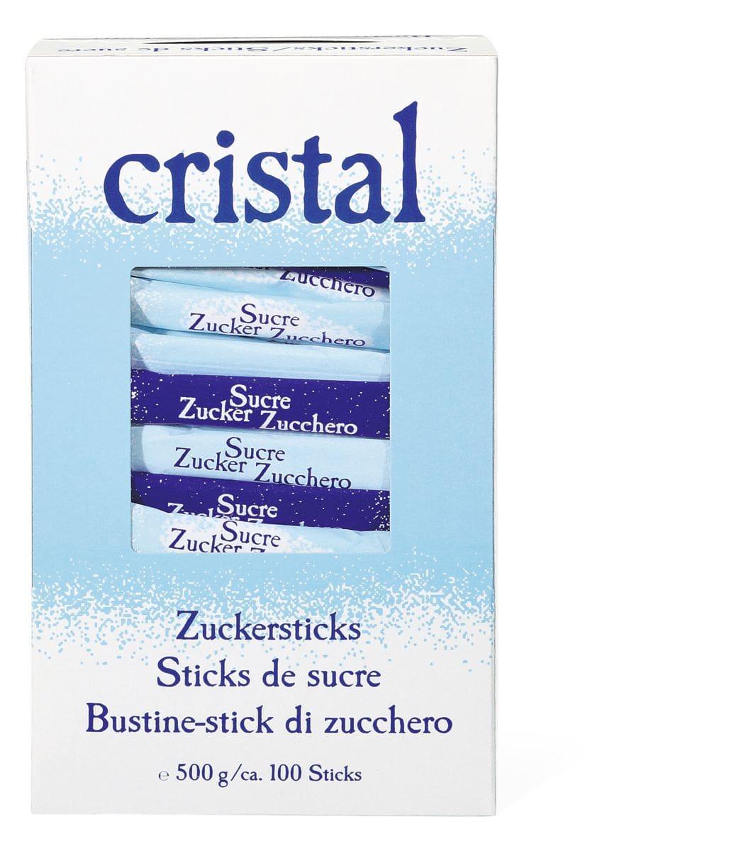 Cristal Zucchero 100 Bustine stick