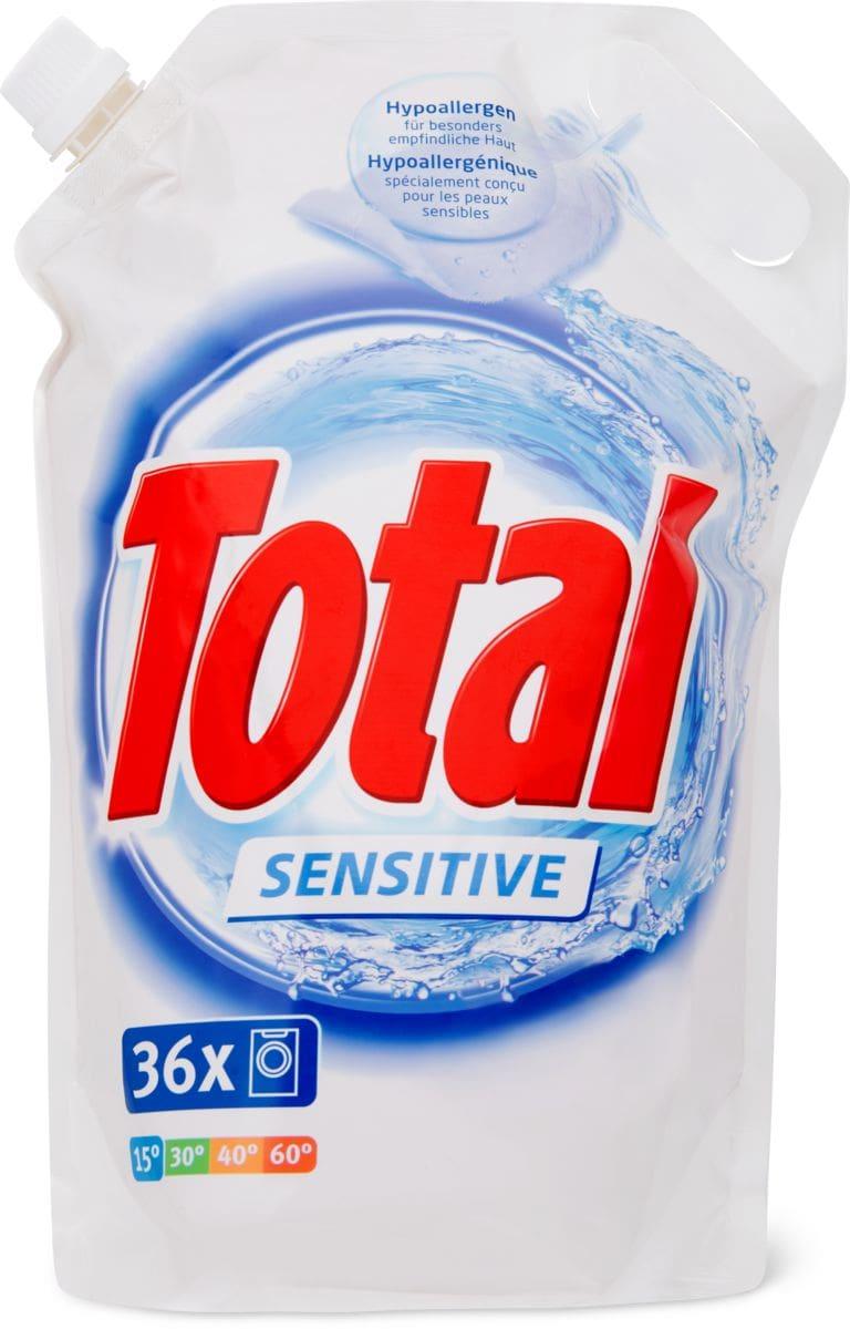 Total Sensitive détergent