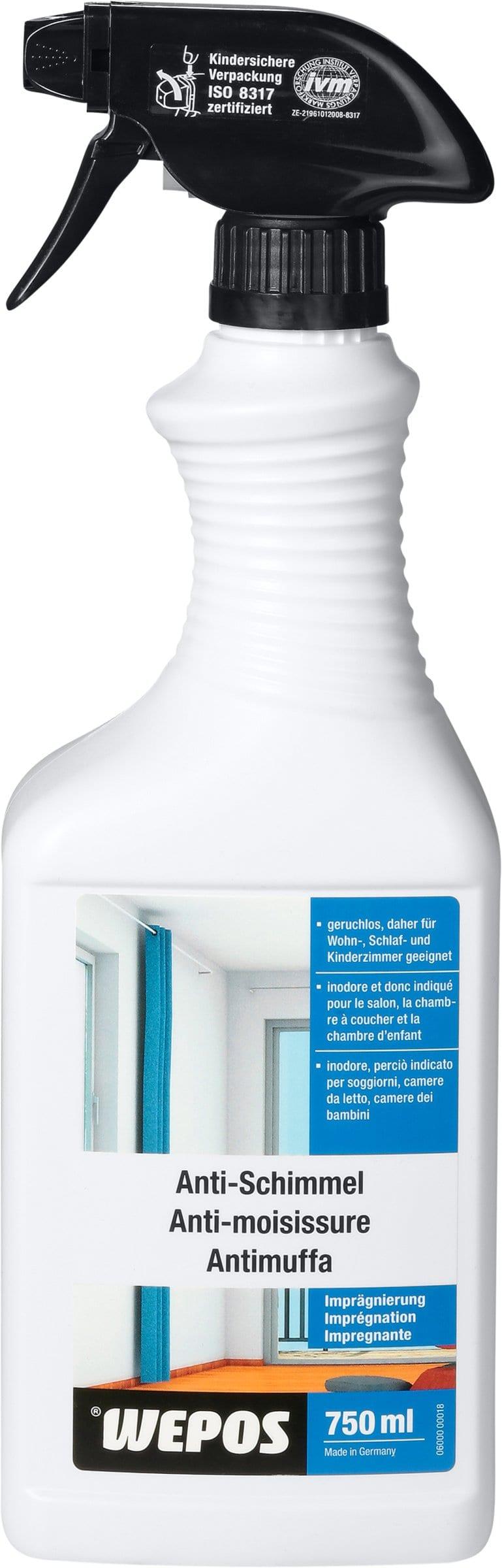 wepos produit d 39 impr gnation contre les moisissures migros. Black Bedroom Furniture Sets. Home Design Ideas