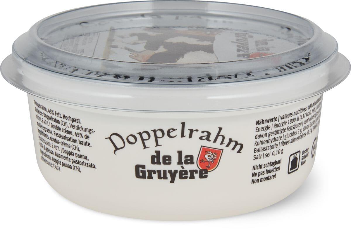 Doppelrahm de la Gruyère