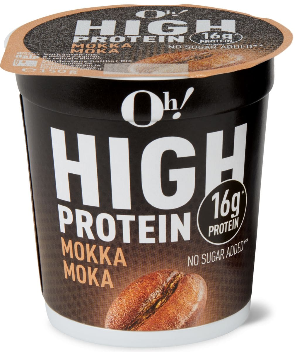 Oh! High Protein moca