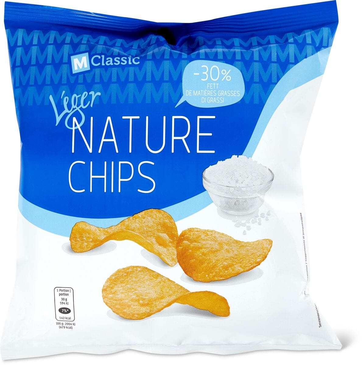 M-Classic Léger Nature Chips
