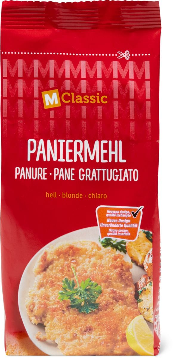 M-Classic Paniermehl hell
