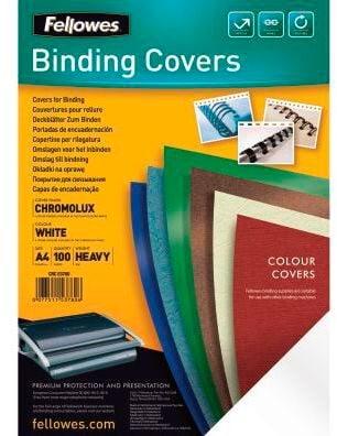 Fellowes Deckblatt Chromo Karton Binderücken