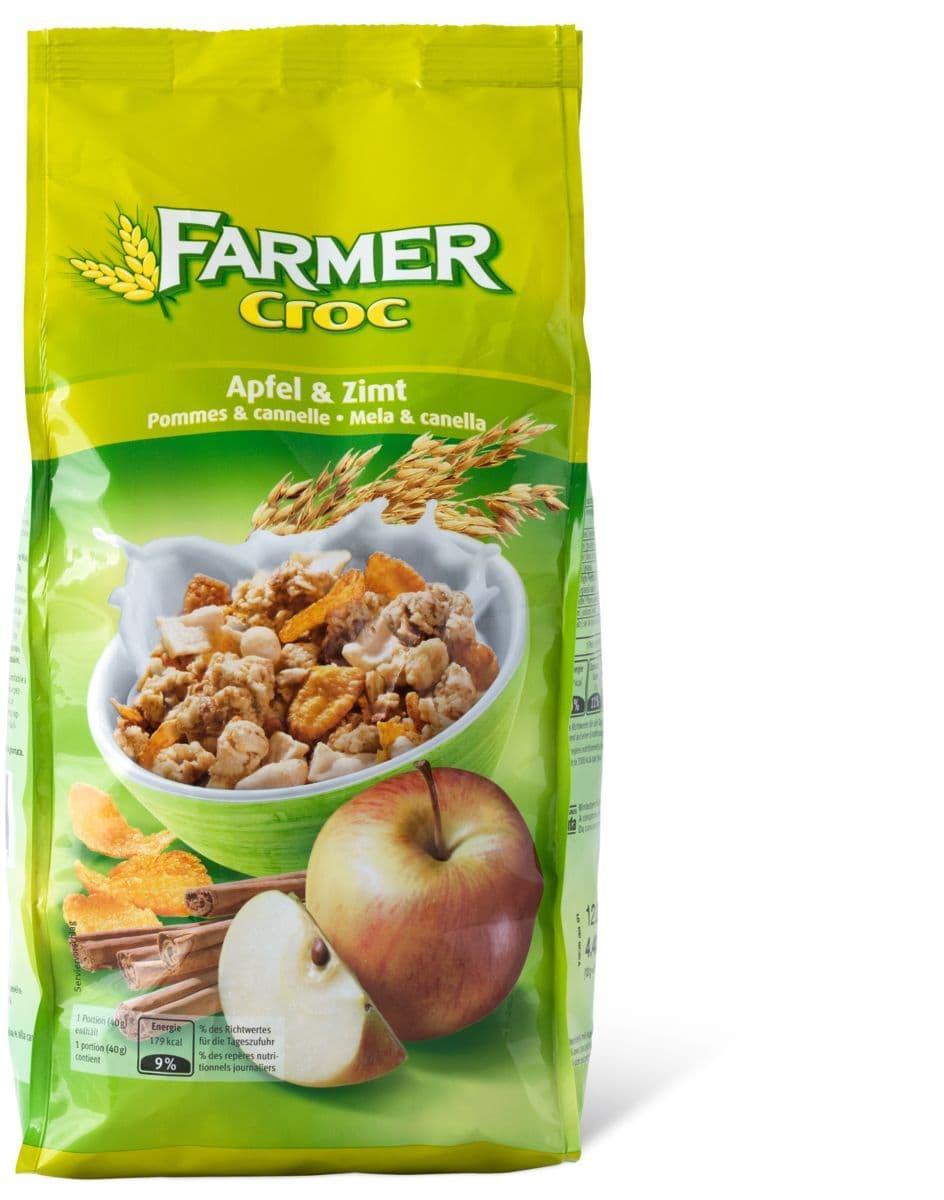 Farmer Croc pommes& Cannelle Müesli
