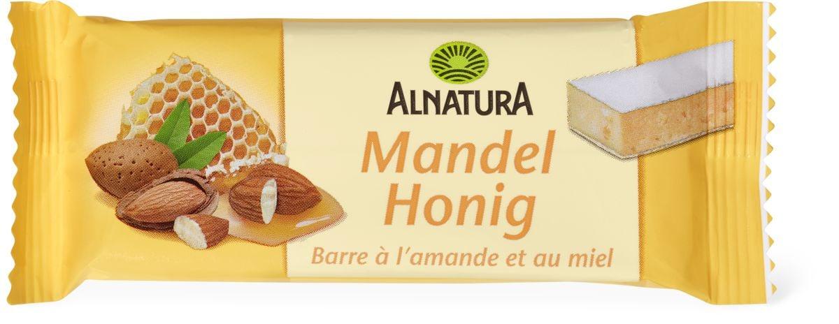 Alnatura Barre amandes-miel