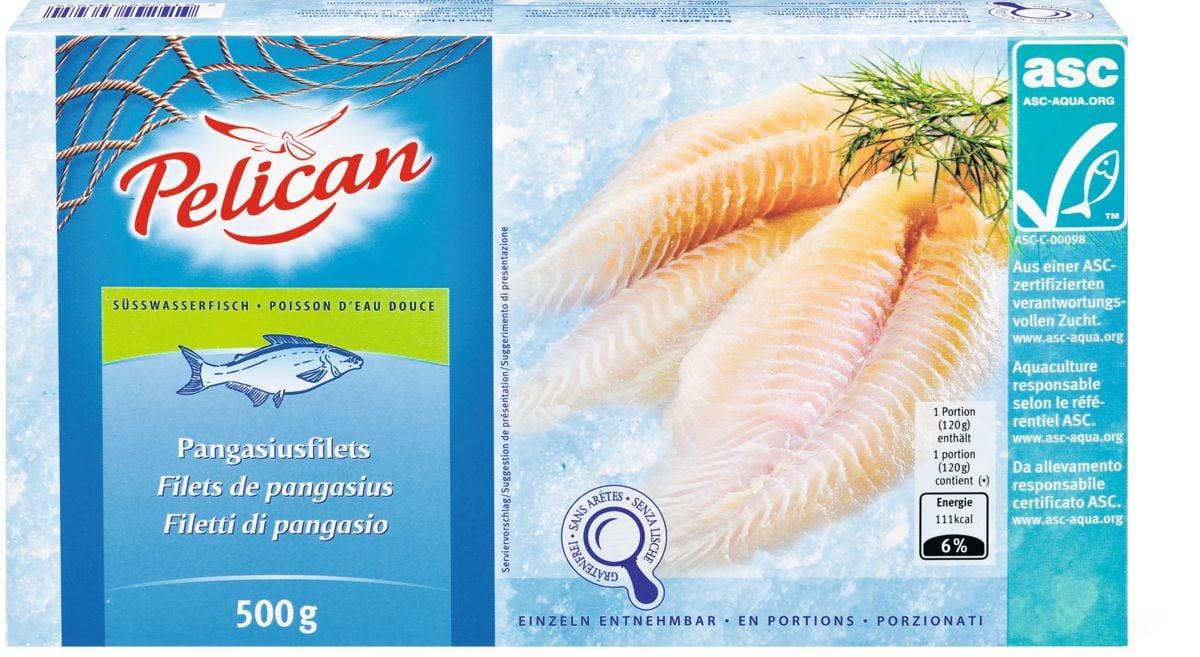 Pelican ASC Filets de pangasius