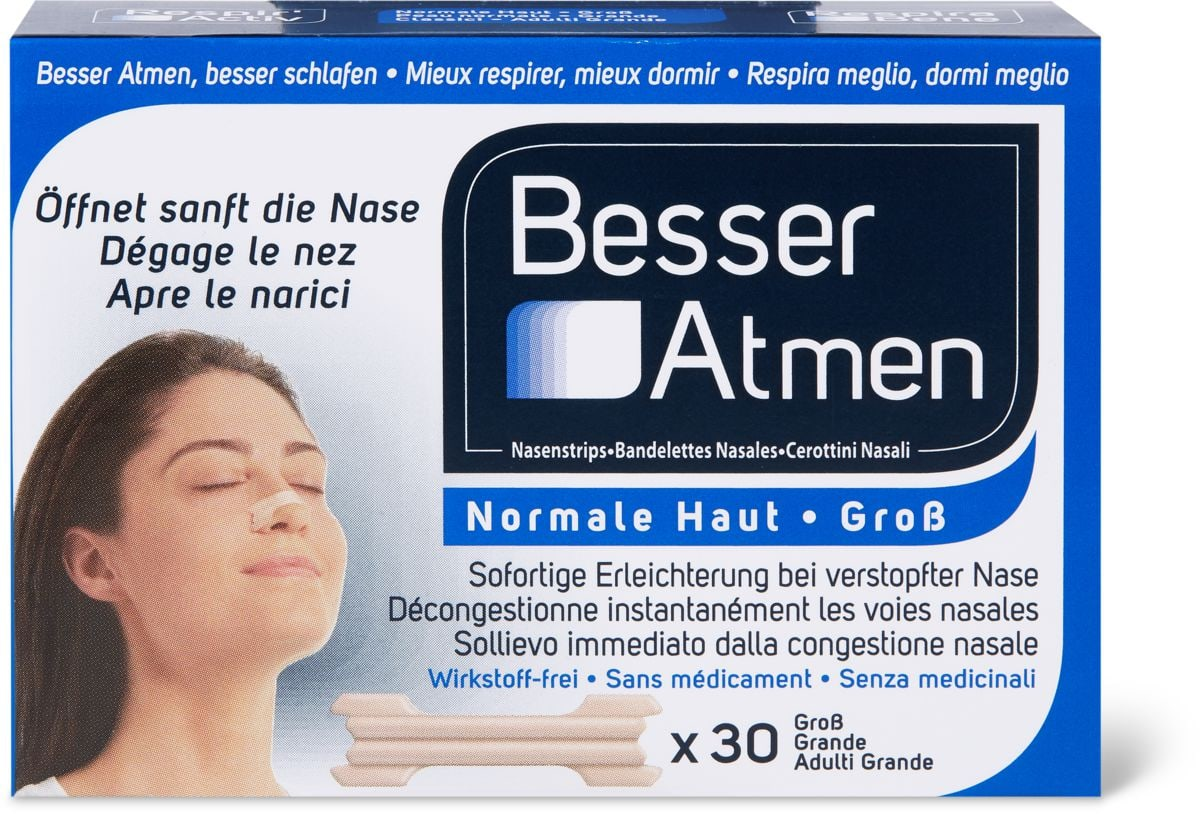 Respir' Activ Bandelettes nasales