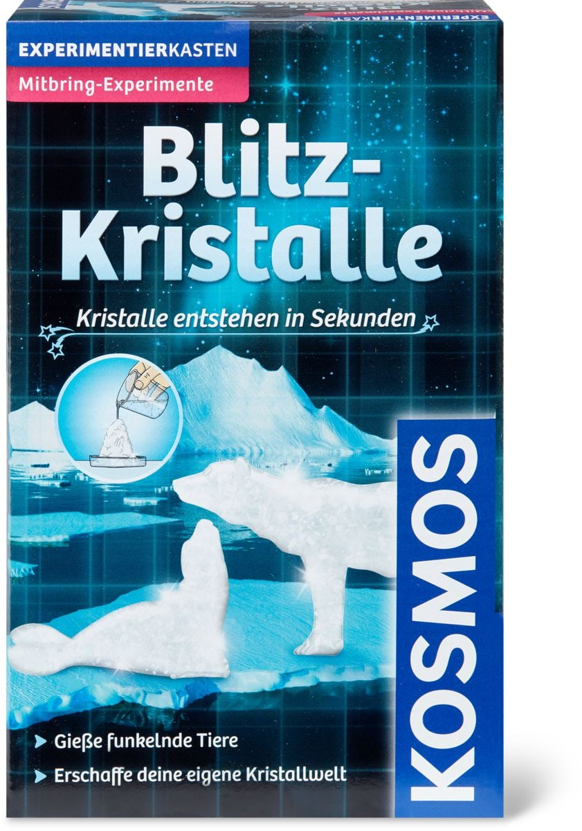 Blitz-Kristalle - Kristalle entstehen in Sekunden (D)