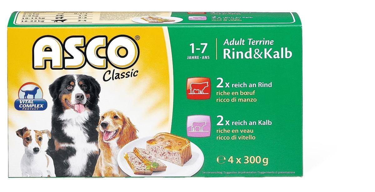Asco Adult Terrine veau & boeuf
