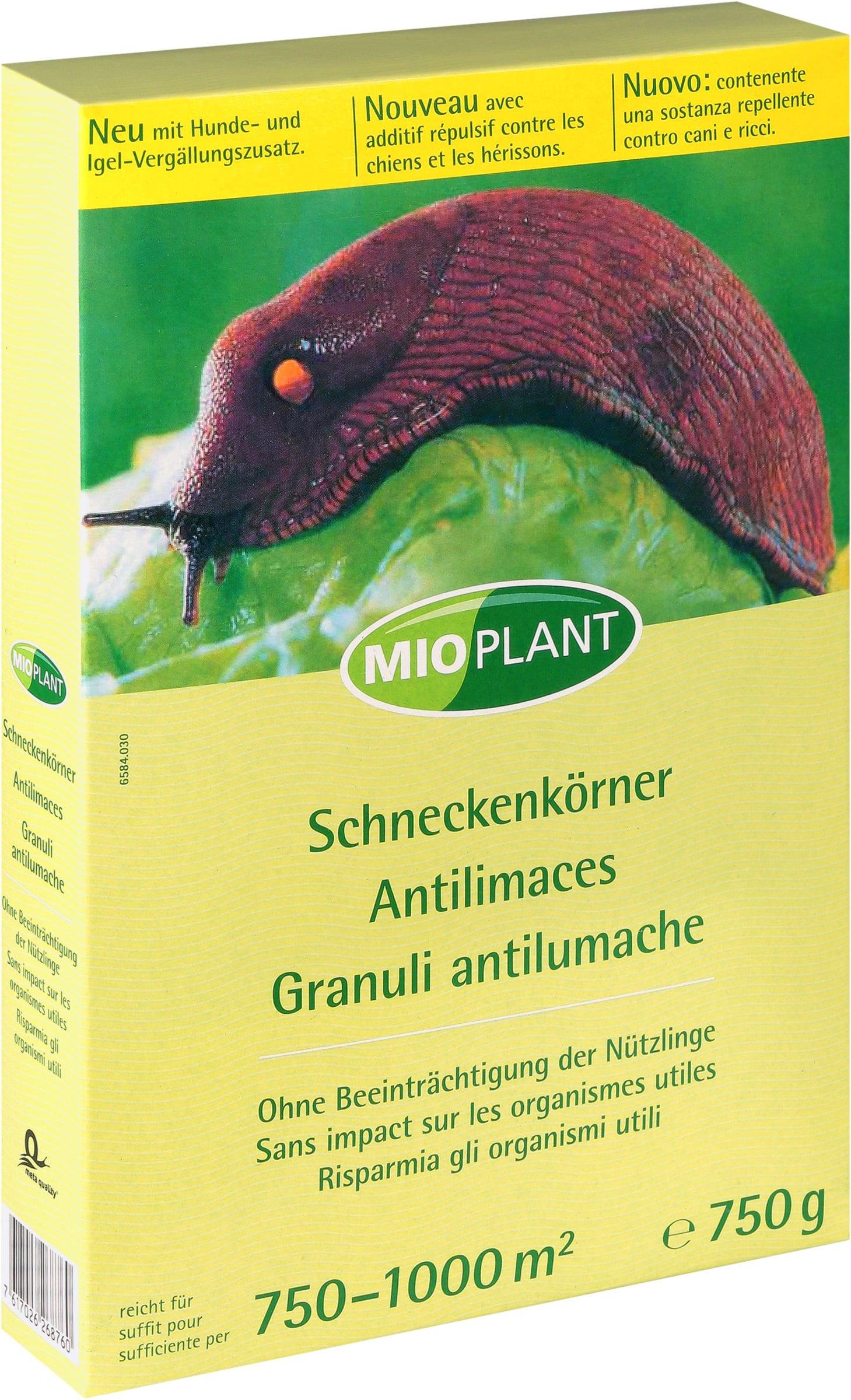 Mioplant Schneckenkörner, 750 g