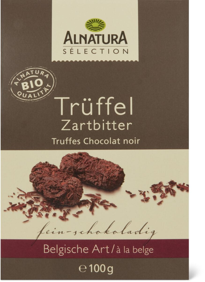 Alnatura tartufi Cioccolato fond