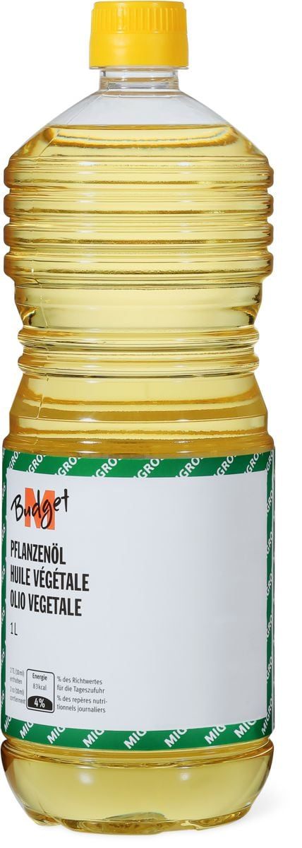 M-Budget Pflanzenöl