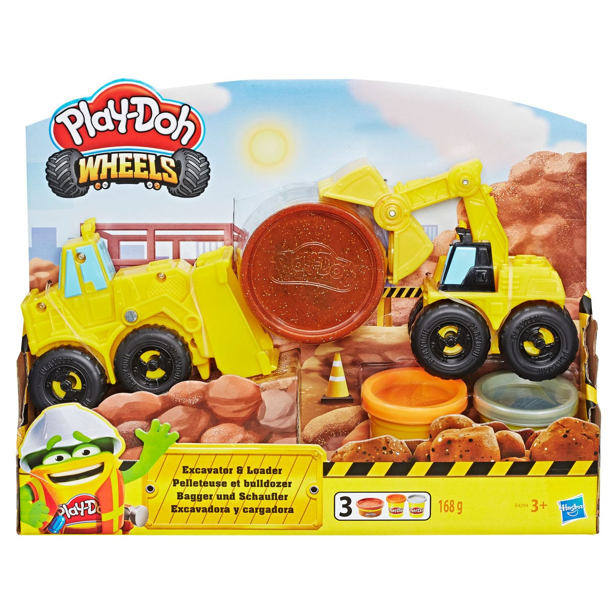 Play-Doh Schaufelbagger Modelieren